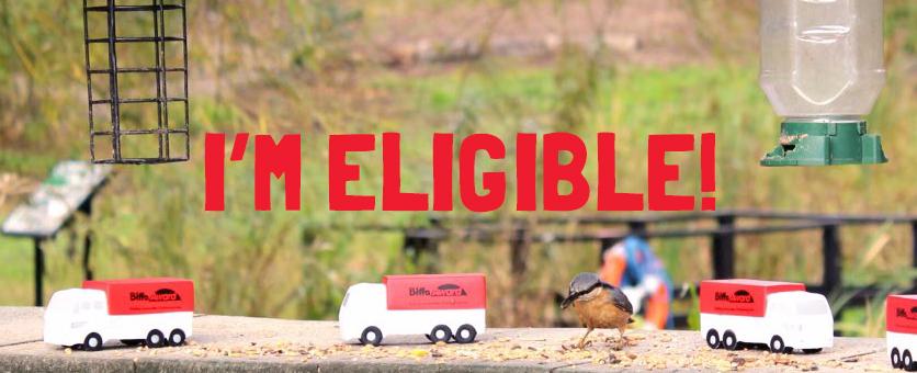 I'm eligible